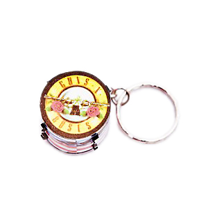 Guns N Roses Drum Keyring